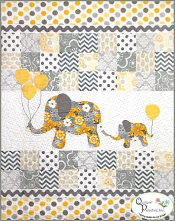 Fan Friday | Mommy & Me Quilt by Quilter's Paradise | Gray Matters More