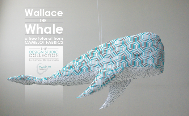 How To\'s Day: Wallace the Whale Tutorial | Camelot Fabrics. Freshly Made